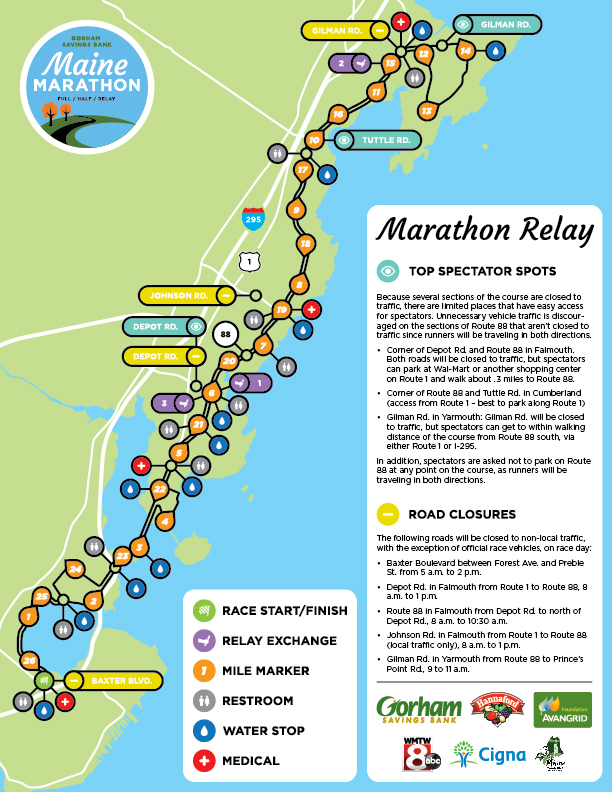 Relay Map